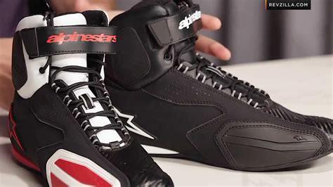 motocross half boots alpinestars faster riding shoes review at revzilla com