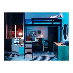 Metal Frame Bunk Bed With Desk Stor 197 Hochbett Ikea M 246 Bel
