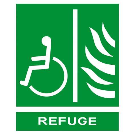 panneau de d 233 vacuation refuge pour personnes en