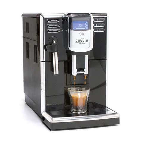 Gaggia Coffe Maker Anima Xl Hitam gaggia anima automatic espresso machine whole latte