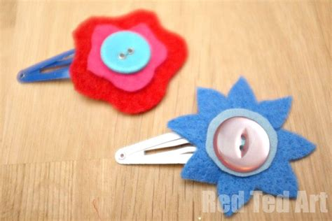 Felt Paper Craft - flower craft ideas wonderful summer s