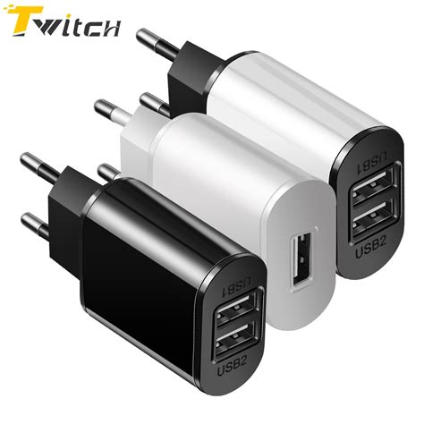 Travel Charger 2in1 Xiaomi travel wall charger fast charge usb charger adapter eu universal mobile phone charger for