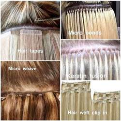 hair extension types best 25 types of hair extensions ideas on