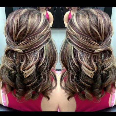 Hair For Baby Shower by Baby Shower Hairstyle Half Up On Medium Hair With Gorgeous