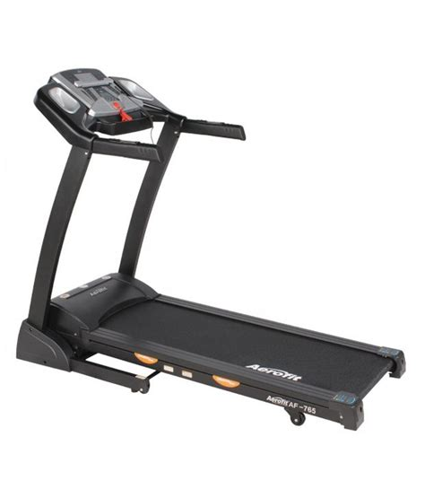 aerofit 2 0 hp motorized treadmill with digital concept