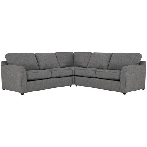 upholstery asheville city furniture asheville gray fabric small two arm sectional