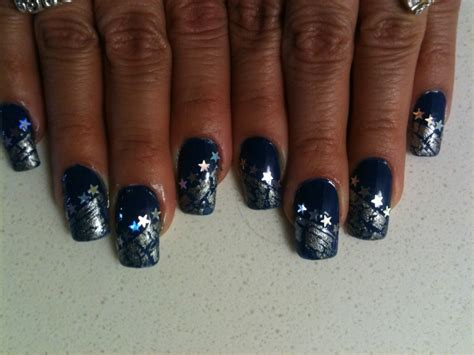 shapes of nails coughin 67 best dallas cowboys nail art images on pinterest
