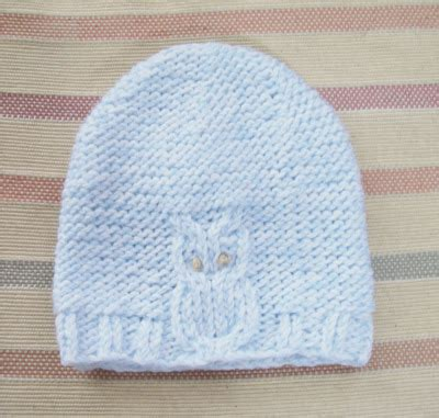 owl baby hat knitting pattern knitting patterns galore owl baby hat