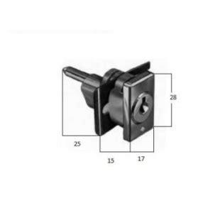 serrature per cassettiere serratura da applicare a forcella per cassettiere prefer