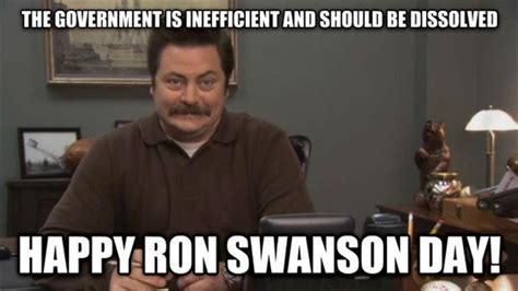 Ron Swanson Meme - funny pictures of the day 88 pics