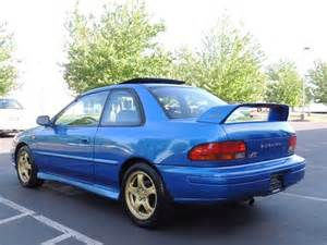 1998 subaru impreza rs coupe 2 5 rs awd sti wrx