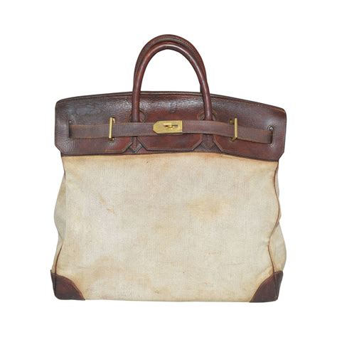 vintage bag hermes vintage 1959 haut a courroie hac bag at 1stdibs
