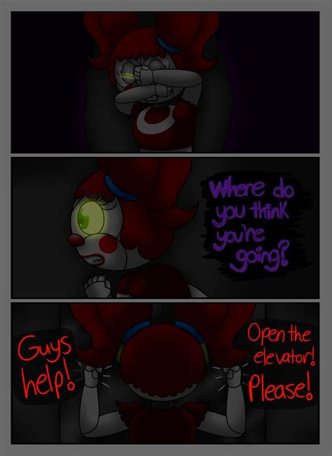 fnaf sl comic a animatronic s demise pg 20 by