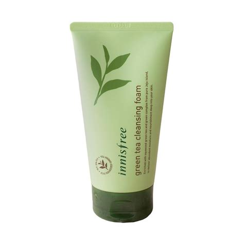 Harga Innisfree Green Tea Cleansing Foam jual innisfree green tea cleansing foam harga