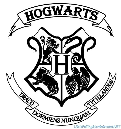 Hogwarts House Crest Coloring Pages Coloring Pages Hogwarts Crest Coloring Page