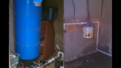 eliminate big pressure tank pka install video youtube
