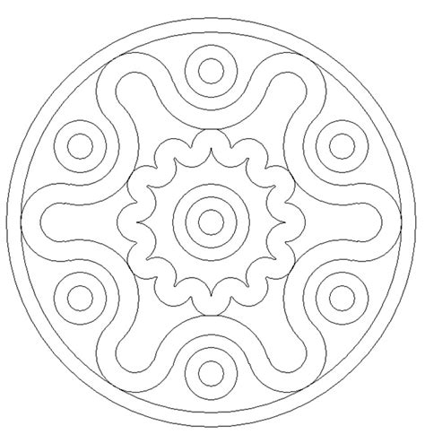 mandala coloring pages for preschoolers printable mandala colouring pages for preschoolers