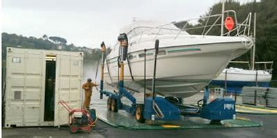 boat lifts for sale uk new travel hoist boat lift at salcombe yachting brokers