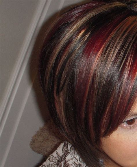 pinterest brown hair with blonde highlights red hair with highlights and lowlights red and blond