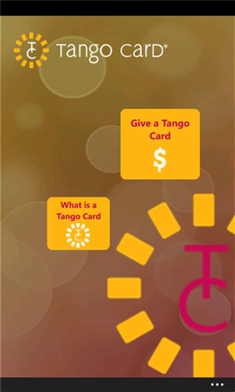 Tango Gift Card - download free tango card gift by tango card v 1 0 0 0 software 483915