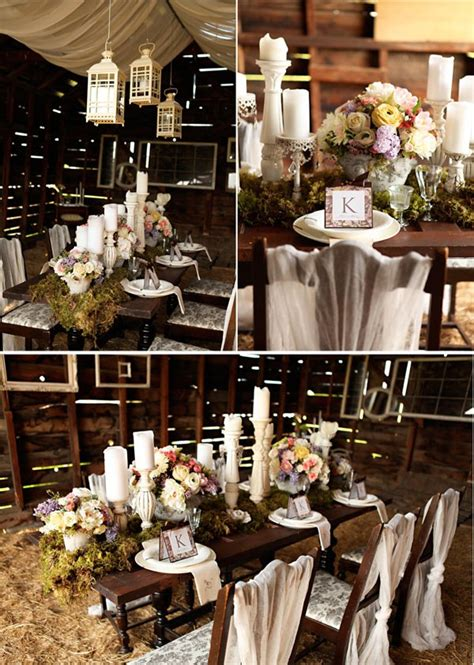 rustic meets vintage celebrations at home