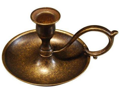 candela bugia antica soffitta portacandele bugia ottone brunito