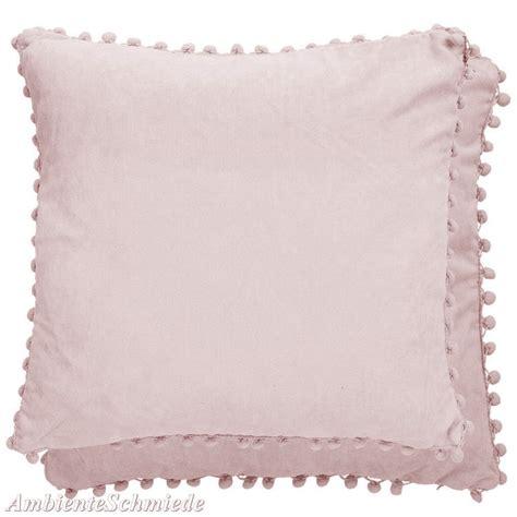 kissen grau rosa clayre eef kissen h 252 lle bommel grau alt rosa flieder