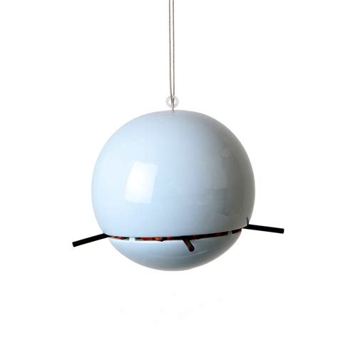 birdball peanut bird feeder by green blue