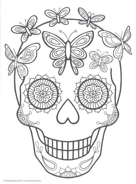 da de muertos dibujos dibujos para colorear el d 237 a de los muertos 27