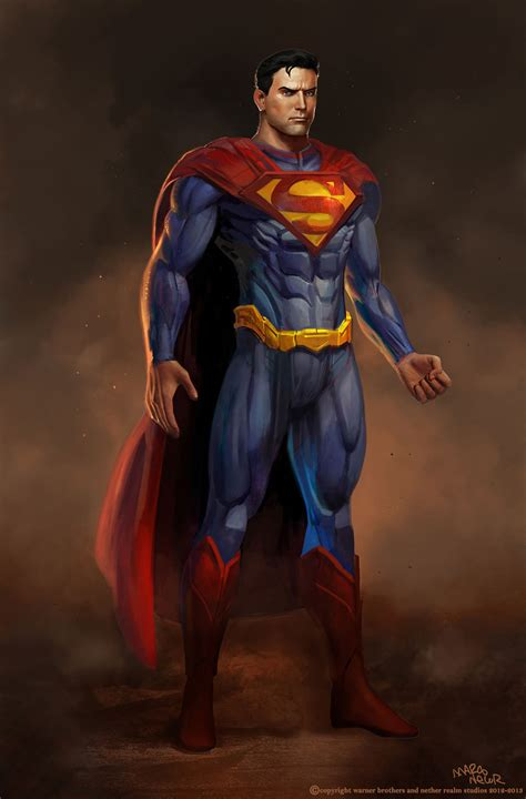 super concepts injustice gods among us concept art