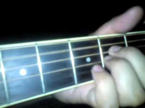 tutorial guitar kau ilhamku plucking