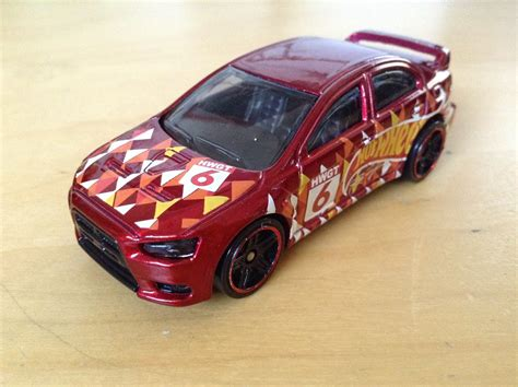 Hotwheels Lancer Evolution 2008 julian s wheels 2008 mitsubishi lancer evolution november 2016 kmart k day exclusive