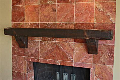 Reclaimed Wood Fireplace Mantels by Previous Next
