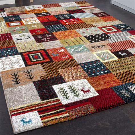 gabbeh teppiche modern designer nomadic loribaft rug terracotta green