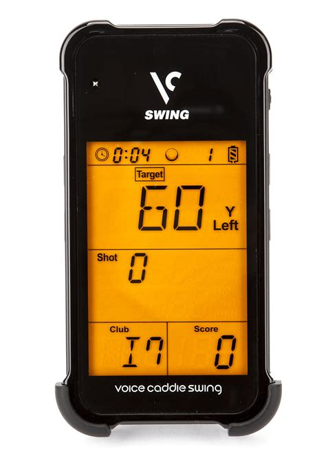 swing caddy sc100 review voice caddie swing caddie portable launch monitor by voice