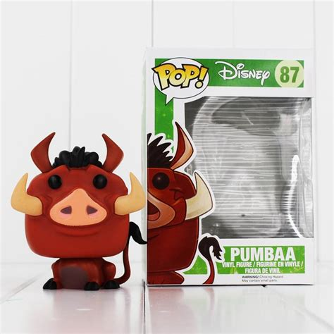 Collectible Funko The King Pumbaa Pop 87 Toys new sale funko pop the king simba pumbaa pvc figure collectible pumbaa
