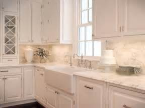 Backsplash For A White Kitchen White Kitchen Backsplash Ideas Buddyberries Com