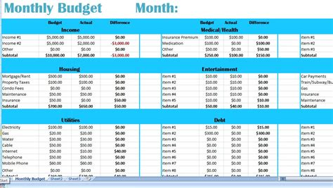 monthly family budget template family monthly budget excel template money by beadingwonders