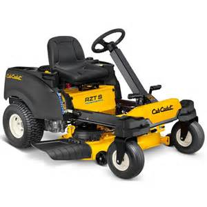 Steering Wheel Zero Turn Mower Reviews Cub Cadet Rzt S 42 In 22 Hp Kohler V Dual