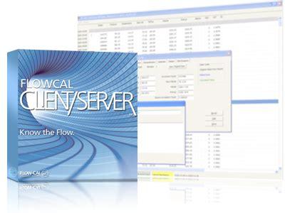 flowcal client server flow cal