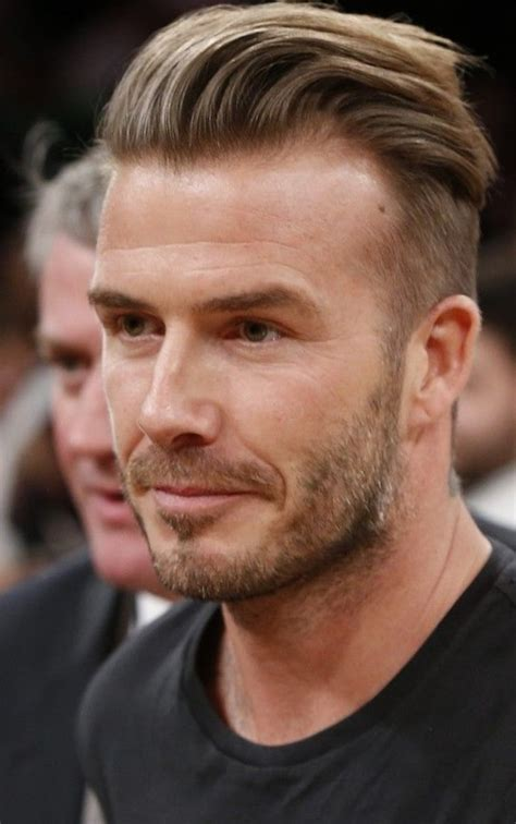 Beckhams New Hair Do by David Beckham New Hair Style Http New Hairstyle Ru
