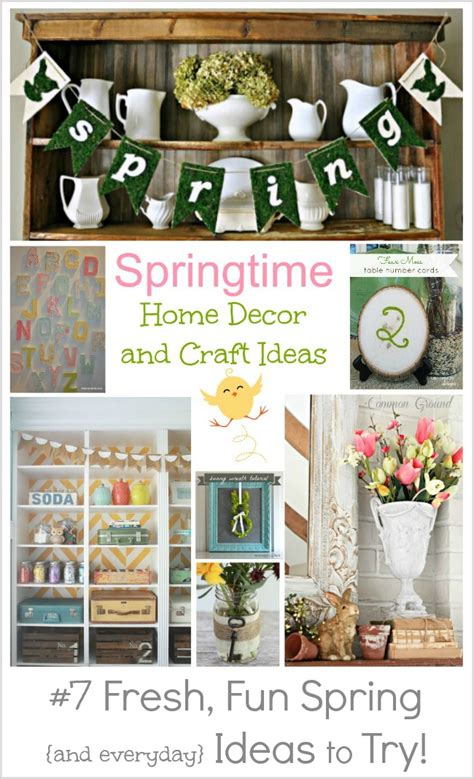diy spring home decor pinterest home decor craft ideas furniture directory