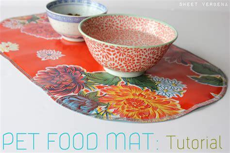 Food Mat by Pet Food Mat A Tutorial Sweet Verbena