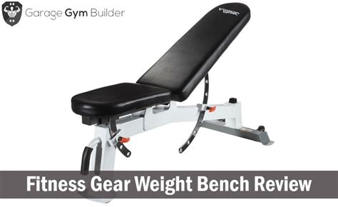 fitness gear weight bench fitness gear utility bench review 2018 fitness gear pro
