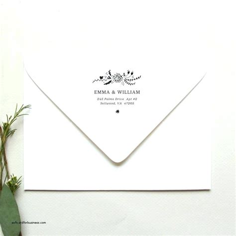 Wedding Return Address Labels Etiquette