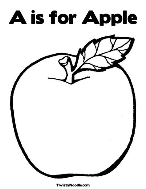 Apple Coloring Pages For Preschoolers preschool apple coloring pages az coloring pages
