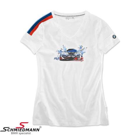 Bmw 2 Sides Tshirt Size L 80 14 2 446 394 t shirt motion bmw motorsport white size l