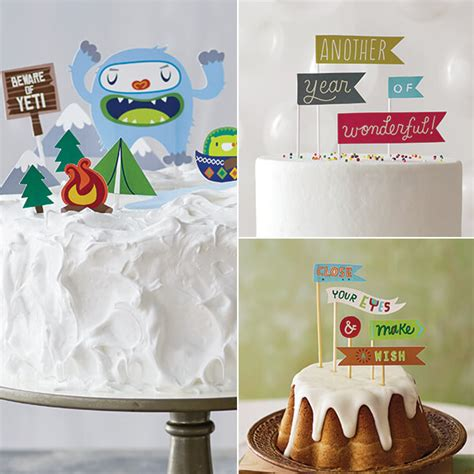 diy cake birthday cake toppers hallmark ideas inspiration