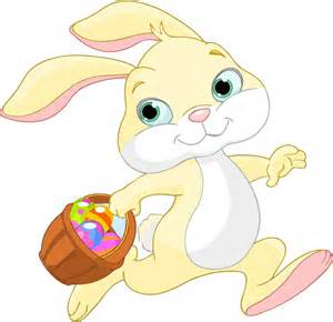 easter bunny clipart clipart easter bunny with basket