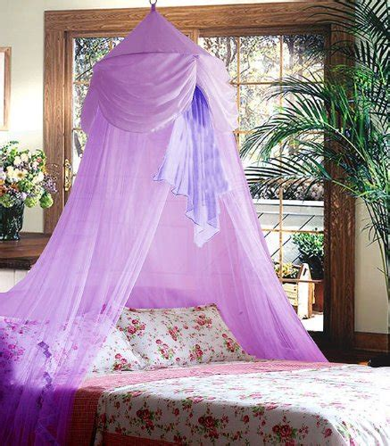 Purple Bed Canopy Canopy Beds For Purple Chiffon Furbelow Princess Bed Canopy By Sid